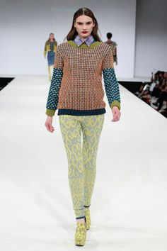 Thea Sanders, BA Fashion Knitwear Design, NTU 2013