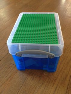 Large Lego Brick Storage and Travel Box Medium. $20.00 via Etsy. & Portable Lego Storage Box and Carrying Case: great idea for the car ...