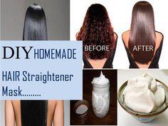 Homemade Hair Straightening Gel:Get permanent straight hair