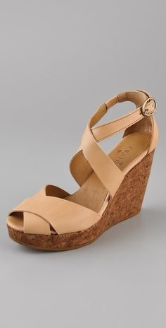 Coclico Shoes Libby Wedge Sandals thestylecure.com