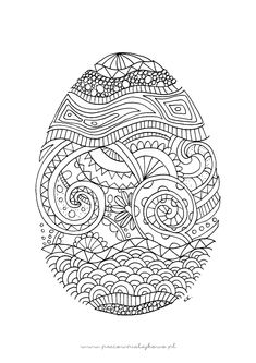 Související obrázek Pattern Coloring Pages, Coloring Book Pages, Coloring Sheets, Coloring Pages For Grown Ups, Doodle Pages, Coloring Easter Eggs, Quilling Patterns, Easter Activities, Doodle Drawings