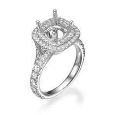 Start by picking out the perfect setting for your Engagement Ring! The details in our designs set the stage for a brilliant center stone of your choice. Engagement Ring Settings, Engagement Rings, Unique Settings, Dream Ring, Dallas, Fine Jewelry, Stone, Diamond, Detail
