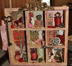 I've got to look into swaps on the hive!  Look what she made for her swap partner!