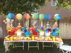 Chavo del 8 theme party. Table Centerpieces.