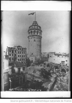 Galata Tower -  Constantinople 1915