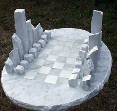 Hey, I found this really awesome Etsy listing at https://www.etsy.com/listing/205302040/large-carved-marble-chess-set