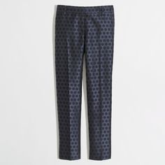 Factory skimmer pant in polka dot ($40) ❤ liked on Polyvore featuring pants, capris, super skinny pants, dot pants, j. crew pants, fitted pants and rayon pants