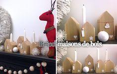 décoration bois noel scandinave - Recherche Google