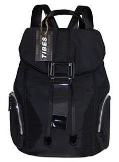 Tibes Waterproof Fashion Backpack Nylon Backpack for Men Black >>> Read more reviews of the product by visiting the link on the image.