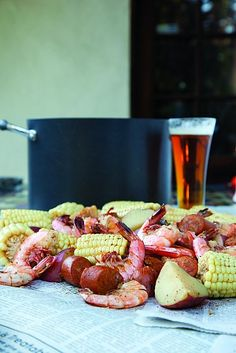Low Country Boil recipe | DRAFT Magazine