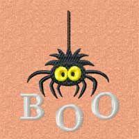 Free Halloween Machine Embroidery Design