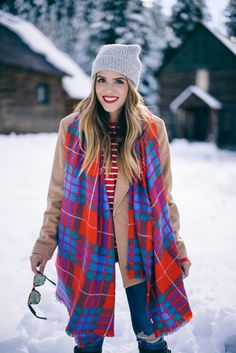 Gal Meets Glam Winter Bright - Old Navy Plaid