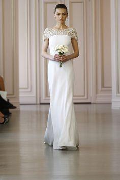 Vestidos de noiva Oscar de la Renta – spring 2016