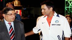 Popular bond in the world of Cricket - Srinivasan and Dhoni