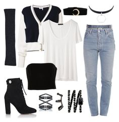 Shadowhunter Casual #13 by alicepardus on Polyvore featuring polyvore, fashion, style, Chloé, The Row, Kitx, Vetements, Gianvito Rossi, Chanel, Eva Fehren, Sarah Kosta, Repossi, Le Kasha and clothing