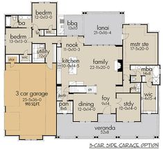 Pin By Donna Glen On Favourite House Plans House Open Floor