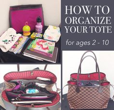 Life in Play | Using a Handbag Organizer after the Baby Stage | Don't dread the diaper bag!