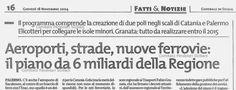 Le infrastrutture in Sicilia...una lunga attesa (4° Ep. anno 2004)   Comitato Pendolari Siciliani