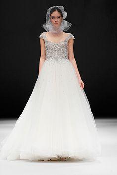 "Badgley Mischka Spring 2015 Bridal Collection ""Horne"" Gown"
