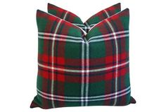 Love this bold plaid pattern and Christmas colorway!