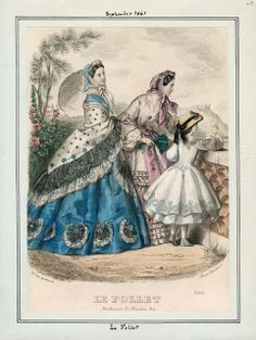 Le Follet, September 1861