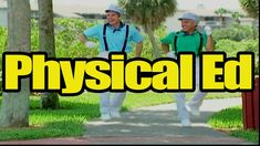 """""""Physical Ed"""" is a great action song that kids love! This video is great for brain breaks, group activities and indoor recess!  Get your class up and moving in a fun and engaging way!"""