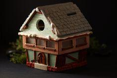casetta salvadanaio con carillon happy birthday sweet home momey box di EddyAllHandMade su Etsy