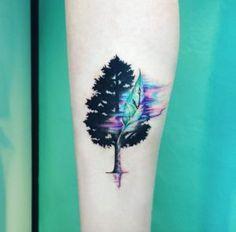 Enchanting Tree Tattoo by IDA