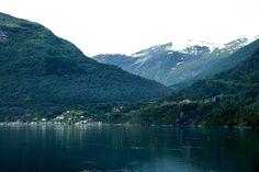 O Leme - Imagens da Noruega - Fiorde de Geirander