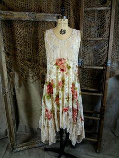 Cottage Rose Lace Tunic