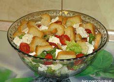 Surówka krymska - Burczy w brzuszku Fruit Salad, Guacamole, Potato Salad, Mexican, Potatoes, Ethnic Recipes, Food, Fruit Salads, Potato