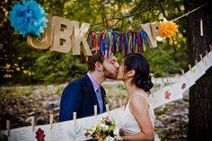 DIY wedding ideas. cheap wedding. only way to do it.