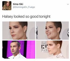 Is it just me but does Halsey kinda look like the girl from Stranger Things?