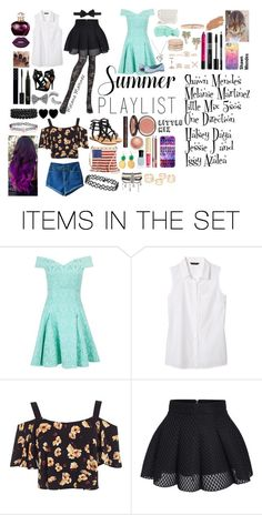 """""""My summer Playlist"""" by creative-with-fashion ❤ liked on Polyvore featuring art and Summerplaylist"""