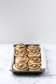 Overnight Cinnamon Buns - Ill take the back left one.
