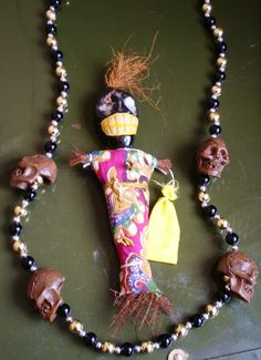 Voodoo Doll and Beads