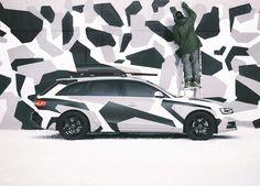 Jon Olsson's Camo Audi A4 Superwagon