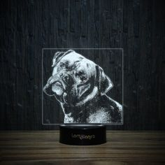 The Boxer Boss-3D Lamp-Lamplanet