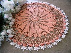 A journal of my continual love for crocheted doilies and other beautiful creations in thread. Crochet Doily Patterns, Crochet Mandala, Crochet Art, Crochet Squares, Crochet Home, Thread Crochet, Crochet Designs, Doilies, Crochet Dollies