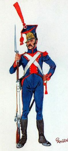 North Legion Grenadier, 1806. H Knotel.