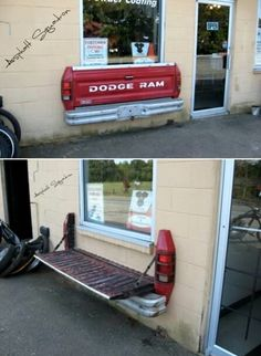 "If I had one of these in the backyard by the grill i could ""tail-gate"" every day! #projects #diy"
