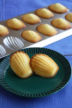 Orange Flavored Madeleines
