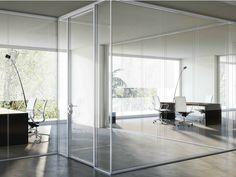 Descarga el catálogo y solicita al fabricante I-wallspace By fantoni, mampara divisoria de vidrio