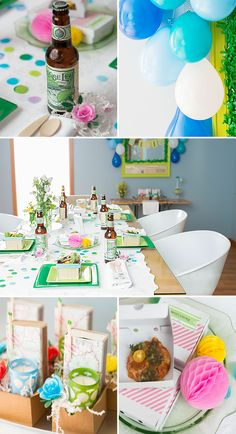 A Pretty Pizza & Beer Party | The Gathery via The Sweet Lulu Blog | Photography: James Moro