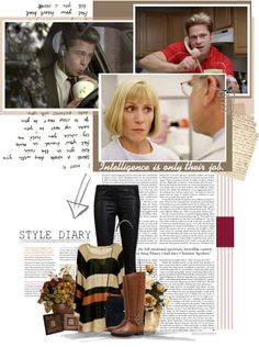 """""""Burn After Reading"""" by chomiczynka ❤ liked on Polyvore"""