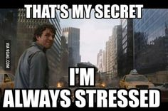 When people ask me why I'm not stressed about final exams.