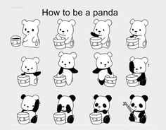 How to be a panda