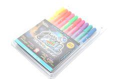 Met gekleurde pennen wordt het maken van aantekeningen een stuk leuker