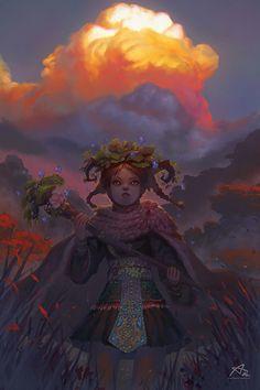 Witches of Forest by Aekkarat Sumatchaya | Fantasy | 2D | CGSociety