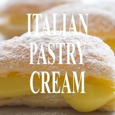 Italian Pastry Cream Italian Pastry Cream, an easy Italian vanilla cream filling, the perfect filling for tarts, pies or cakes. A simple delicious Italian classic. Cream Puff Filling, Cream Puff Recipe, Cream Recipes, Italian Pastry Cream Recipe, Vanilla Cream Filling Recipe, Cream Filling For Cupcakes, Cake Filling Recipes, Puff Pastry Recipes, Frosting Recipes